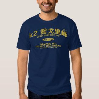 k2 tee shirt