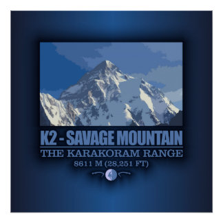 K2 -The Savage Mountain Posters