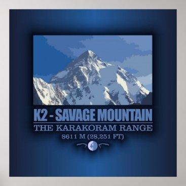 K2 -The Savage Mountain Poster