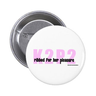 K2P2 Ribbed For Her Pleasure Merchandise Pin