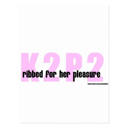 Ribbed for her pleasure tshirt