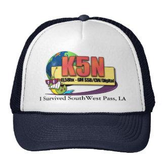 K5N, LA del paso del sudoeste de I Survivied Gorras