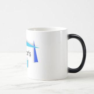 K8 Tutors Black-White 11 oz Morphing Mug