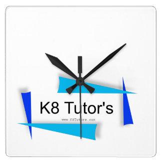 K8 Tutors Square Wall Clock
