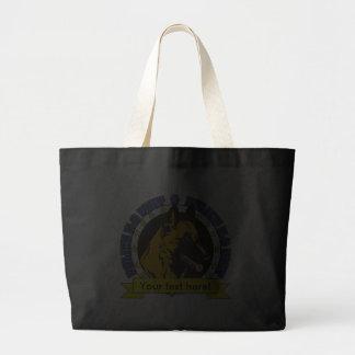K9 Belgian Malinois Canvas Bags