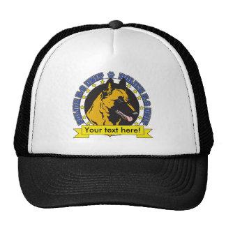 K9 Belgian Malinois Trucker Hat