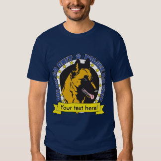 K9 Belgian Malinois T-shirts
