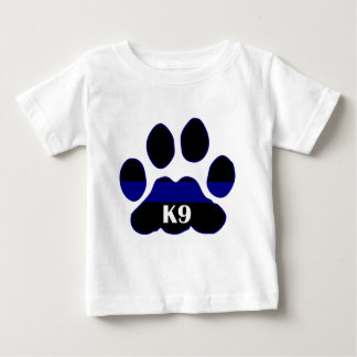 K9 Blue Line Baby T-Shirt