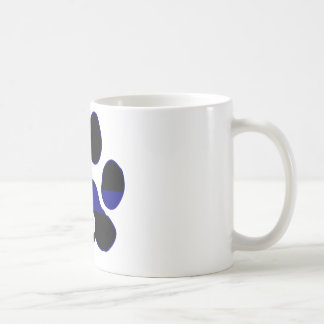 K9 Blue Line Coffee Mug