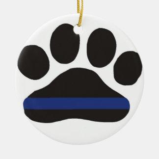 K9 Blue Line Ornament