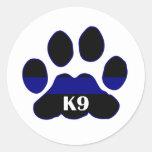 K9 Blue Line Stickers