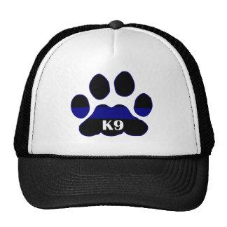 K9 Blue Line Trucker Hat