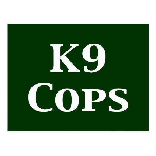 K9 captura los regalos postal