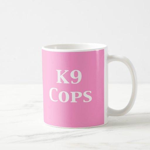 K9 captura los regalos taza de café