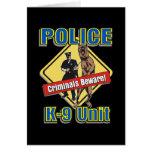 K9 Criminals Beware Cards