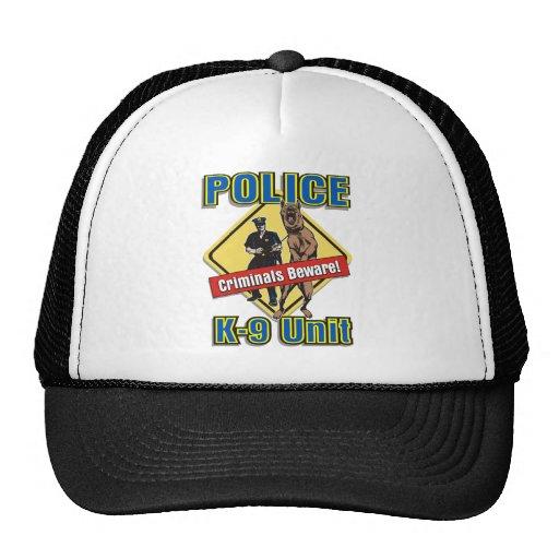 K9 Criminals Beware Trucker Hat