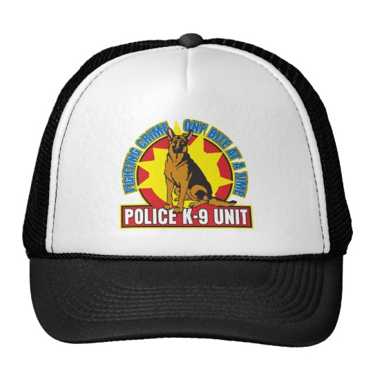 K9 German Shepherd Bite Trucker Hat
