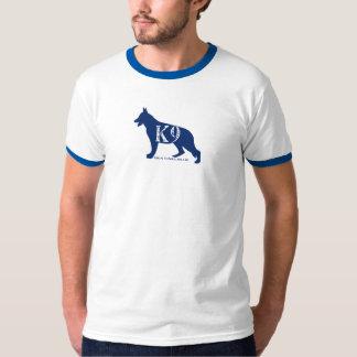 K9 Handler Ringer Police T Shirt