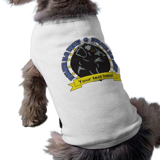 K9 Labrador Retriever Pet T Shirt