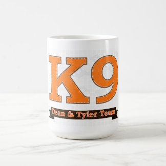K9 CLASSIC WHITE COFFEE MUG