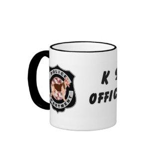 K9 Police mug
