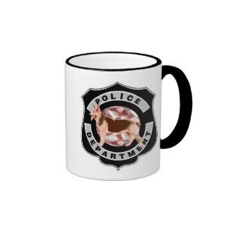 K9 Police Ringer Mug