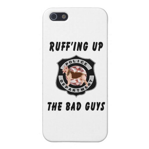 K9 Police Officers Badge iPhone 5/5S Cover