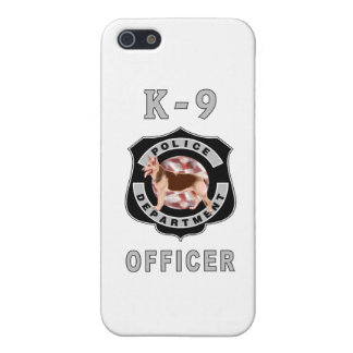 K9 Police Officers Badge Case For iPhone 5