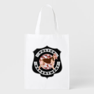 K9 Police Officers Grocery Bag