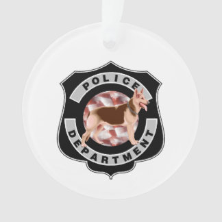 K9 Police Officers Ornament
