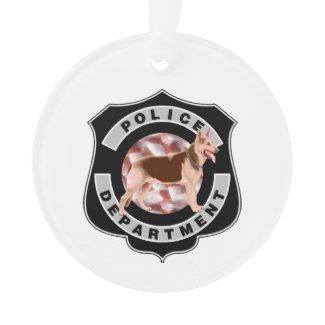 K9 Cops Ornament (Round)