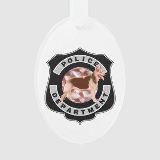 K9 Police Ornament