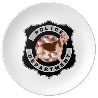 K9 Police Plate