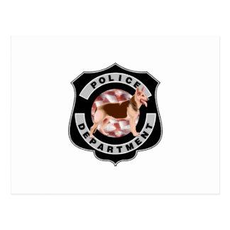 K9 Police Postcard