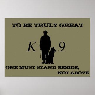 K9 poster