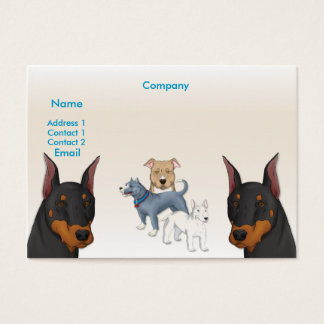 K9 Profile Business Card