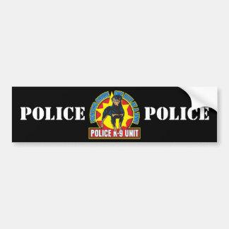 K9 Rottweiler Bite Car Bumper Sticker