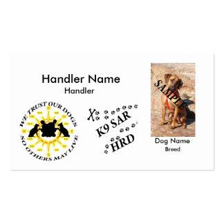 K9 SAR HRD Business Card