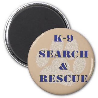 K9 Search and Rescue Magnet