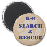 K9 Search and Rescue Magnets