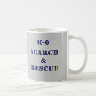 K9 Search and Rescue Mugs
