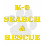K9 Search And Rescue Tshirt