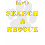 K9 Search And Rescue V2 Tshirt