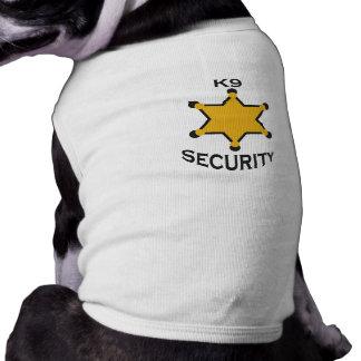 k9 security dog t shirt