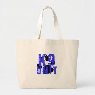 k9 Unit Canvas Bags