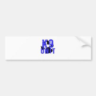 k9 Unit Bumper Sticker