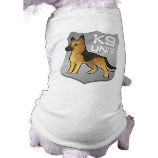 K9 Unit Cartoon German Shepherd Tee