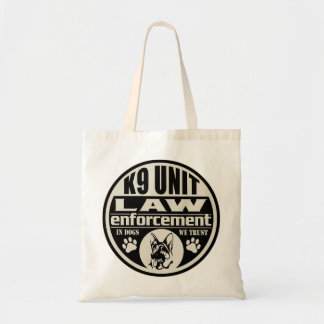 K9 Unit In Dogs We Trust (Black) Bag