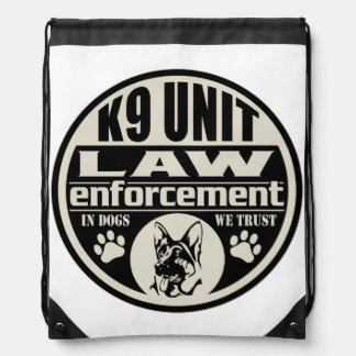 K9 Unit In Dogs We Trust Backpacks