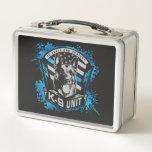 "K9 Unit  - Malinois - Belgian shepherd Metal Lunch Box<br><div class=""desc"">K9 Unit  - Malinois - Belgian shepherd</div>"